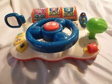 Vtech Learn & Discover Driver Talking Sounds Lights Songs Abc 123 Colors Shapes