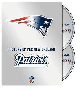 NFL History of the New England Patriots [2x DVD] *NEU* mit Tom Brady, Randy Moss