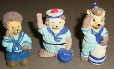 Poly Stone Sailor Animals Miniature Figurines