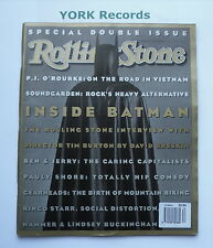 ROLLING STONE MAGAZINE - Issue 634/635 July 9th-23rd 1992 - Batman / Soundgarden