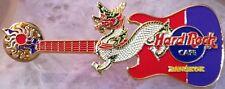 Hard Rock Cafe BANGKOK 2004 DRAGON GUITAR Series PIN  Red/Purple - HRC #26161