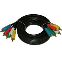6ft Component Video and Audio Cable, Use With Video Cameras, DVD, VCR, TV