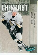 2005-06 Parkhurst Sidney Crosby Checklist #694 Pittsburgh Penguins