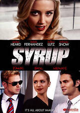 Syrup (DVD, Amber Heard, Shiloh Fernandez, Kellan Lutz, Brittany Snow, 2013)
