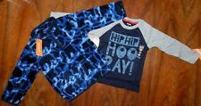 Jacket/Shirt Set 2pc Blues Gymboree Winter Boy size 2T New