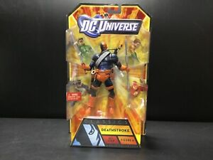 NIB Deathstroke Action Figure [Mattel 2010] DC Universe Classics All Star # 6