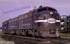 New York Central EMD F7 #1819 diesel locomotive railroad train postcard