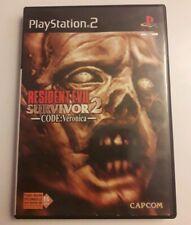 Resident evil survivor 2 Code Veronica PS2 Complet PAL/FR