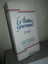 Le Bottin Gourmand -1994
