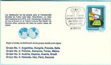 Briefmarken Argentinien FDC 1978 Fußball FIFA WM