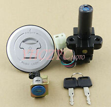 Motorcycle Ignition Switch Lock Gas Cap Set Lock Key for Honda X4 CB1300 97-00