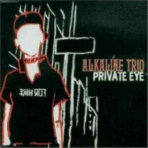 ALKALINE TRIO private eye (CD, single, enhanced, 2002) punk, alternative rock,