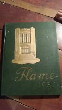 1952 MONONGAHELA HIGH SCHOOL, YEARBOOK, MONONGAHELA, PENNSYLVANIA    FLAME