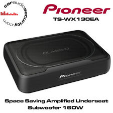 PIONEER TS-WX130EA - Space Saving Amplified Underseat Subwoofer 160W