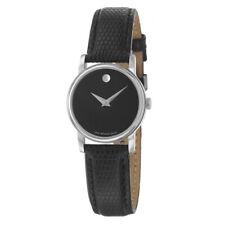 Movado 2100004 Museum Women Wrist Watch - Black