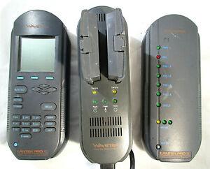 Wavetek Lantek Pro XL Cable Tester w/Accessories~For PARTS/REPAIR