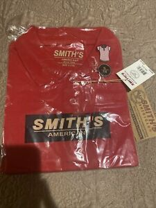 Smith's American Kids Girl's Red Size 7/8Uniform Shirt Short Sleeve Red Polo Top