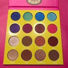16 Colors Women Eyeshadow Palette Shimmer Matte Eye Shadow Cosmetic Beauty YH