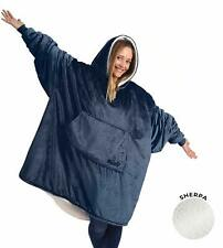 THE COMFY Original | Oversized Microfiber & Sherpa Wearable Blanket, Seen On Sha