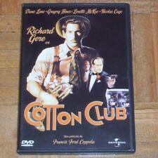 DVD.- COTTON CLUB - FRANCIS FORD COPPOLA - RICHARD GERE - DESCATALOGADA - NUEVA