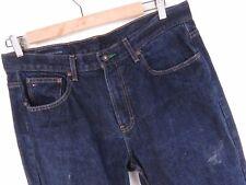 NV359 TOMMY HILFIGER JEANS VINTAGE PANTS ORIGINAL DENIM PREMIUM size 36/34