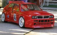 0030 - Carrozzeria BODY RC 1/10 200mm Lancia Delta-HF INTEGRALE MARTINI +ADESIVI