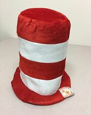 """Dr. Seuss Cat In The Hat Costume Hat By Shalom Toys """"One Size Fits All"""" """"NEW"""""""