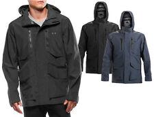 NEW Oakley Crown Zip Jacket Men's Size S Hooded Ski Snowboard MSRP $280