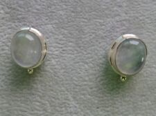 Sarda Sterling Silver Earrings with Moonstone