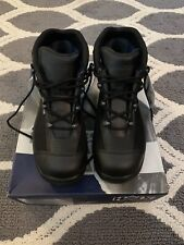 Mens size 11 Haix Airpower R7 Crosstech Emergency Response Black Boots 9.5