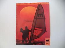 advertising Pubblicità 1988 WINDSURF MISTRAL TTS