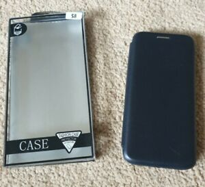 Samsung S8 Leather Quality Luxury Ultra Thin Hard Back Phone Case