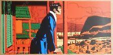 Affiche Hugo PRATT Corto Maltese Hong-Kong 50x100 cm