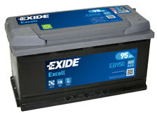 EXIDE EB950 TYPE 019 / 017 Car Battery 12V 95Ah 800A BMW AUDI JAGUAR RANGE ROVER