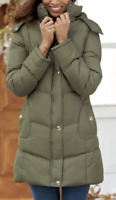 Women's Chill Chaser Jacket - Olive Winter Coat Zip front, NEW, Size: L
