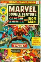 Marvel Double Feature # 2 (Captain America / Iron Man reprints) (USA, 1974)