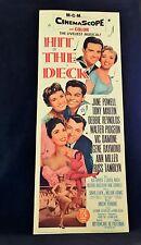 Original 1962 HIT THE DECK Movie Poster 14 x 36 MUSICAL * DEBBIE REYNOLDS Clean!