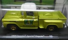 ANTI FREEZE GREEN GOLD 1958 CHEVY APACHE STEPSIDE PICKUP TRUCK ET MAGS M2 17-64