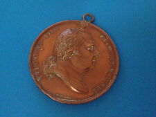 Médaille Cuivre Louis XVIII Statue Turenne 1823 par ANDRIEU & PUYMAURIN / Medal