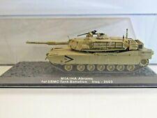 IXO Die-cast Model 1:72 Scale M1A1HA Abrams 1st USMC Tank Battalion Iraq - 2003