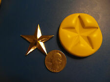 Star, Texas, USA Silicone Mold Gumpaste Fondant Cake Chocolate clay  #428A