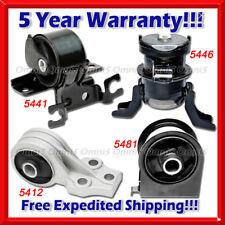 L030 Fit Ford Escape 09-12 2.5L 2WD/ 05-08 2.3L AUTO Motor & Trans Mount Set 4PC