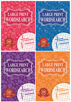 1 x SINGLE LARGE PRINT Wordsearch Book 120 Word Search Puzzles per book 4175