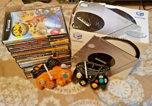 NICE*LOT* Nintendo GameCube Limited Edition Platinum Console (NTSC)