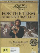For The Term Of His Natural Life (DVD, 2013) - Anthony Perkins, Patrick Macnee