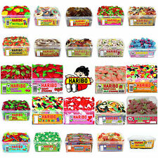 GROUP 5 SWEETS FACTORY SEALED HARIBO SWEET TUBS PARTY BAGS WEDDING FAVOURS