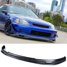 Type M Urethane Front Bumper Lip Spoiler Body kit For 99-00 Honda Civic 2 3 4 Dr