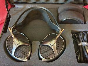 Meze Empyrean Isodynamic Hybrid Array Headphones - Full Set, extra pads & case