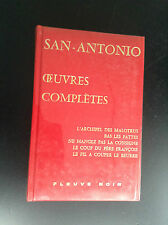 Dard San Antonio oeuvres complètes Fleuve Noir tome 11 TTBE