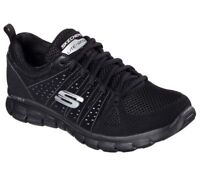 Womens Skechers Synergy Look Book Air Cooled Memory Foam BBK #BR 11963